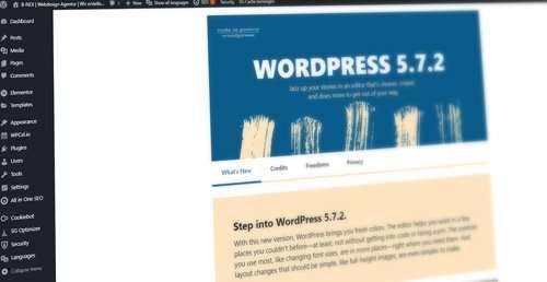 WordPress Plugin Aktualisierung