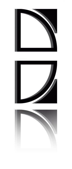 3D B-Nex Logo mit Spiegelung